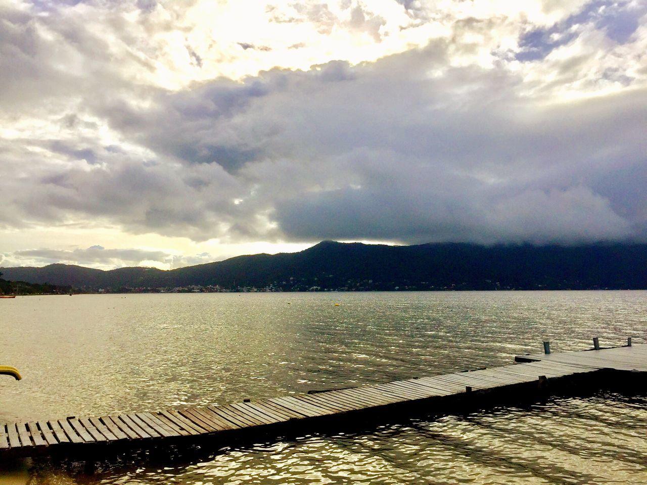 Water Santa Catarina, Brazil Cloud - Sky Scenics Tranquil Scene Lake