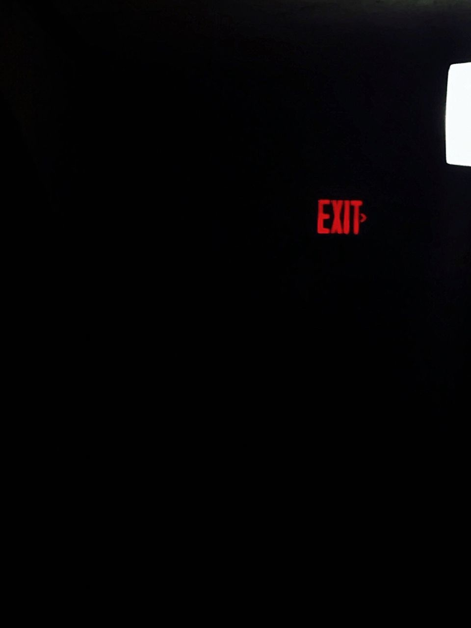copy space, text, digital display, exit sign, digital clock, healthcare and medicine, emergency sign, no people, communication, indoors, red, hospital, illuminated, close-up, black background, day