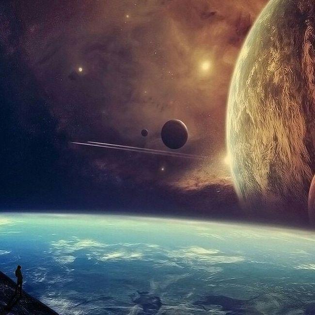 Space Exploration Lens Flare Scenics Adventure Sci-fi Science Fiction Planetary Moon Exploration