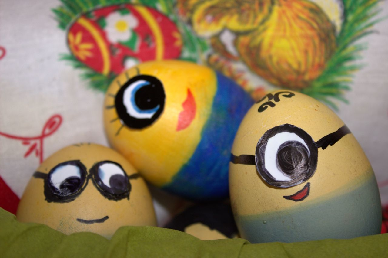 Minions Easter Bunny Easter Eggs Eggs Eier Frohe Ostern! Kindheit Minions Ostern 2017