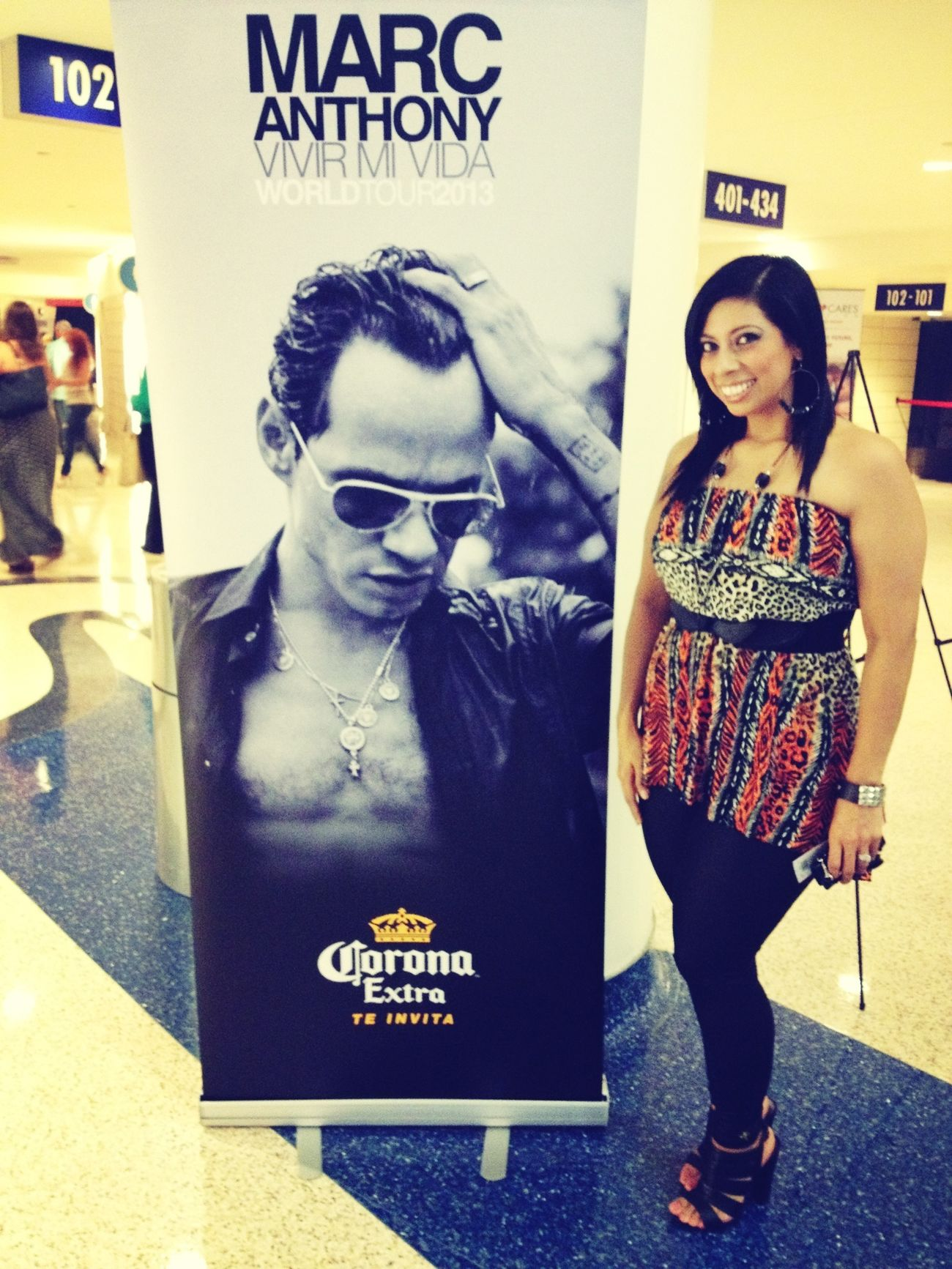 Marc Anthony Concert Fun