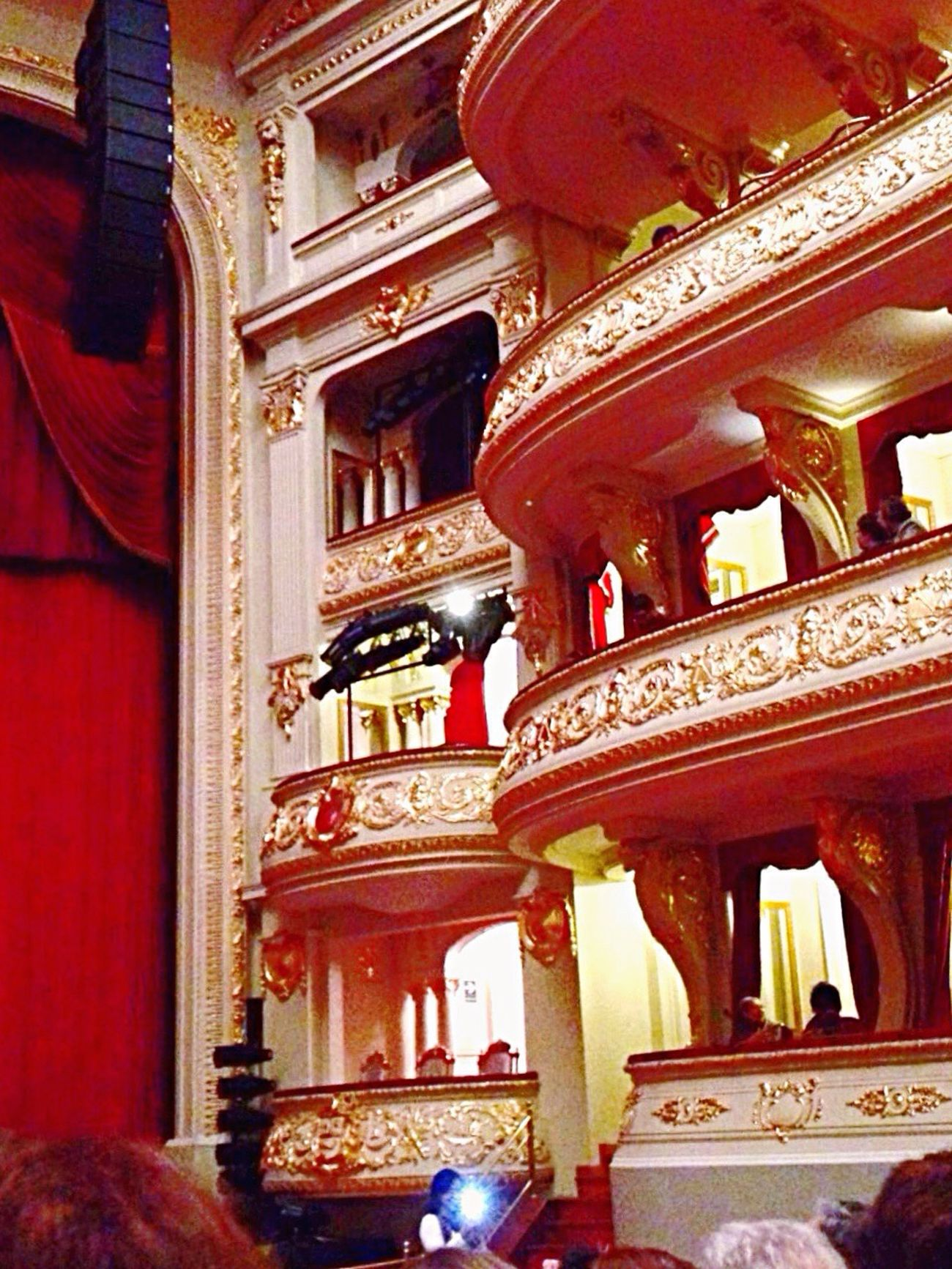 ❤️⚜ Beauty Gold Tone The Architect - 2016 EyeEm Awards Eye4photography  EyeEm Gallery Theater Art Detail Fantasy Fancy View From Below First Eyeem Photo Rosé Gold Beautiful Rococo Architecture Balcony