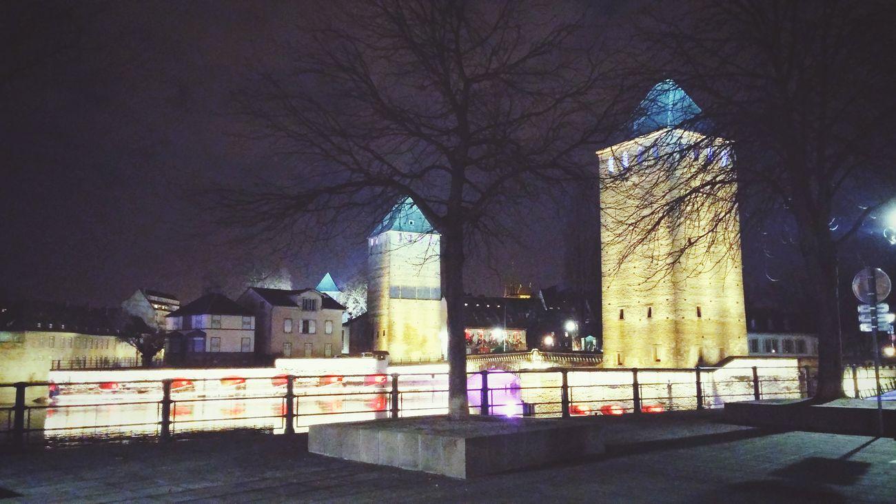 Strasbourg, une nuit de janvier