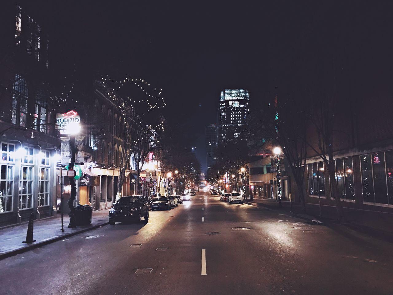 Illuminated City Night Building Exterior Street Road Outdoors Nightlife Nashville TN Nashville NASHVILLE,TENNESSEE