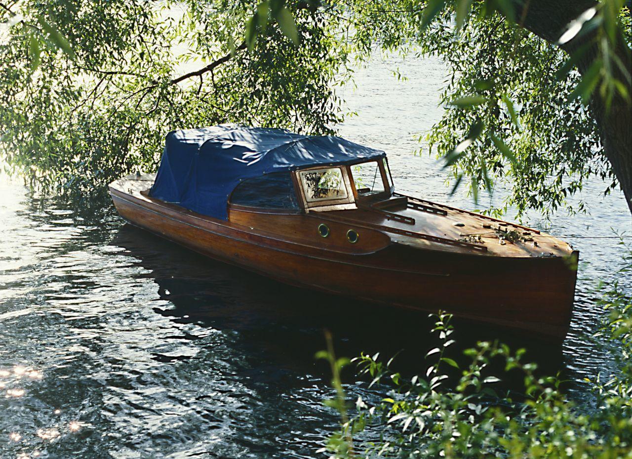Moored Moored Boat Old Boat Stockholm, Sweden Water Wooden Boat