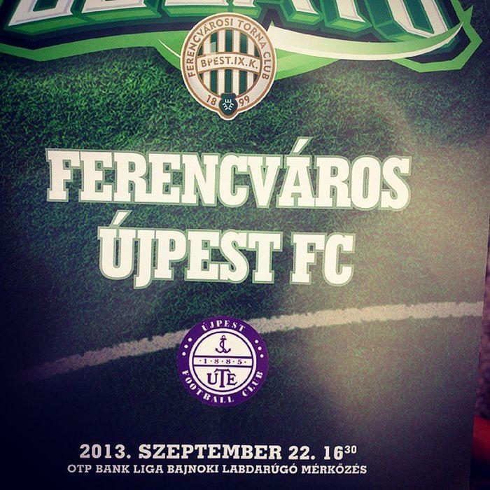 Ferencváros Zöldfehér Hajrafradi FTC  Fradicimer