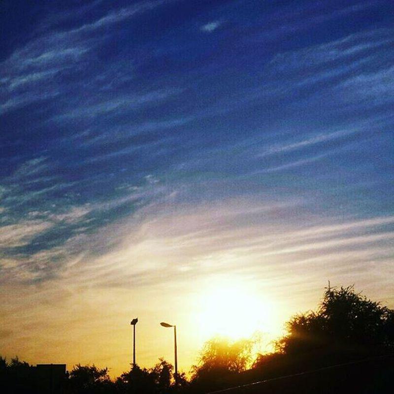 😍 Sunset Sky Sunlight City View Abudhabi UAE Albateen Clouds Instasunsets Instaabudhabi InAbuDhabi Love Amazing Beautiful Goodvibes Goodlife Happybunny ❤