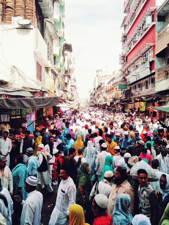 Belief is something, if you have, good, if you don't, it's same, Ajmer_Dargah_Shareef Ajmer Rajasthan Belief And Faith Crowded Street God and Life
