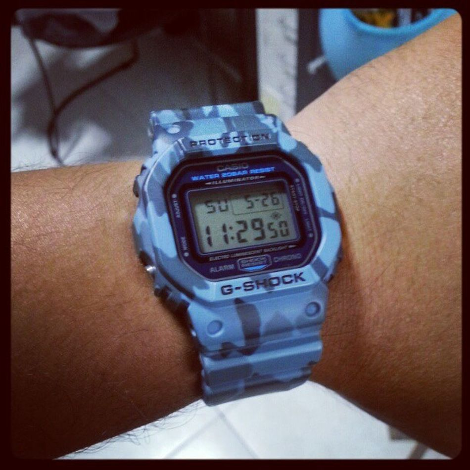 Its the Dw5600 Python Gshock today!!! Have a great Sunday guys!!