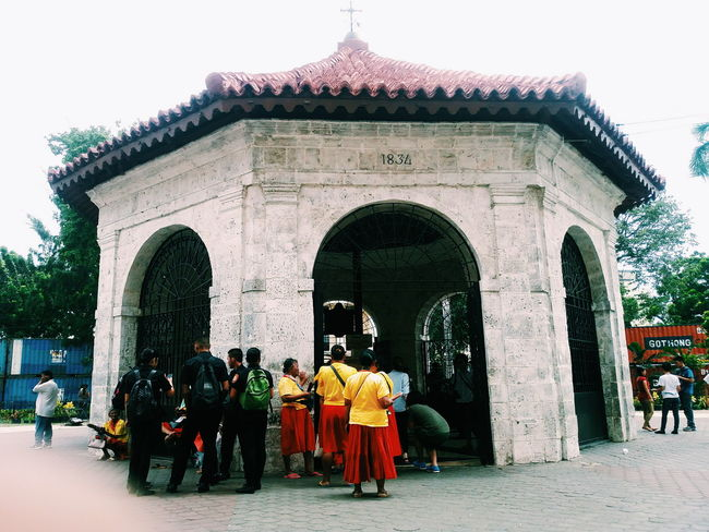 Architecture Historical Site Magellan's Cross Cebu City, Philippines