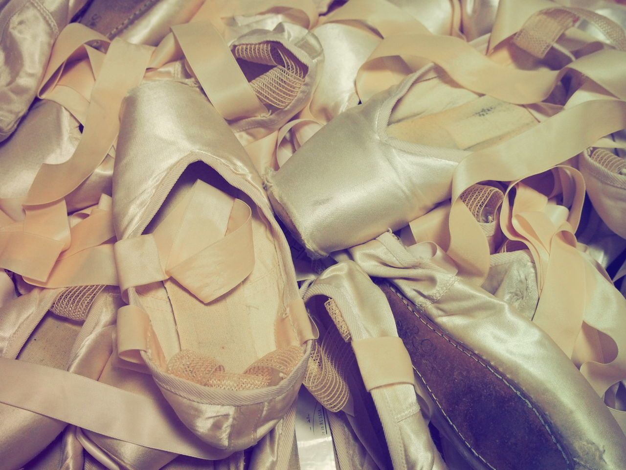 Indoors  Full Frame Collection Creativity Close-up Ballett Ballet Shoes Point Shoes Almaz R CLASS Toe Shoes Shoe Fashionable Large Group Of Objects