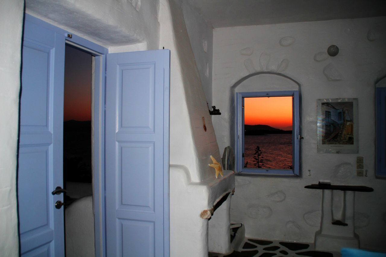 Interior Views Those were the sunsets everyday in the summer. Agia Irini Villa, Paros, Greece. Traveling Looking Out Of The Window Travel Photography Wanderlust Showcase March EyeEmBestPics Sunset Sunset_collection Sunsetporn Sunsetlover Sunset_captures Sunset_madness Paros Greece Cyclades Agia Irini EyeEm Sunset Summer Views Aegean Sea
