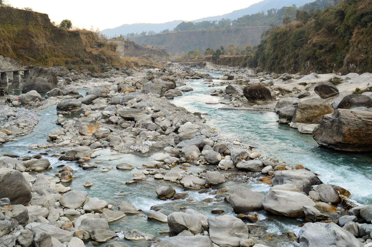 Beauty In Nature Boulders, Stones, Pebbles, Rocks, Extreme Terrain Nature Nepal Pokhara, Nepal River To The Mountain River View Riverscape Rocky River Seti River Tourism Travel Destinations Travel Photography Traveling Trekking