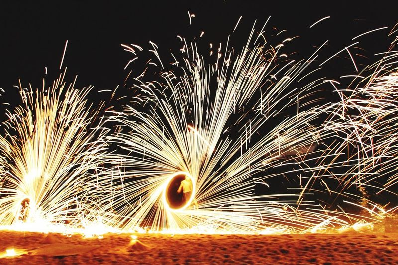 Sparks Celebration Sparkler Firework - Man Made Object Outdoors