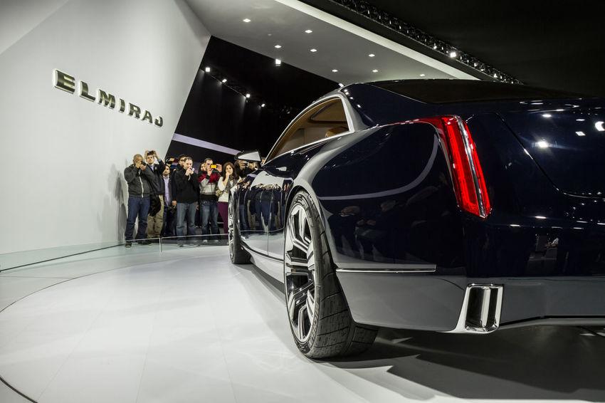 Car Concept Car Detroit Auto Show 2014 Elmiraj Land Vehicle Mode Of Transport Side View Transportation