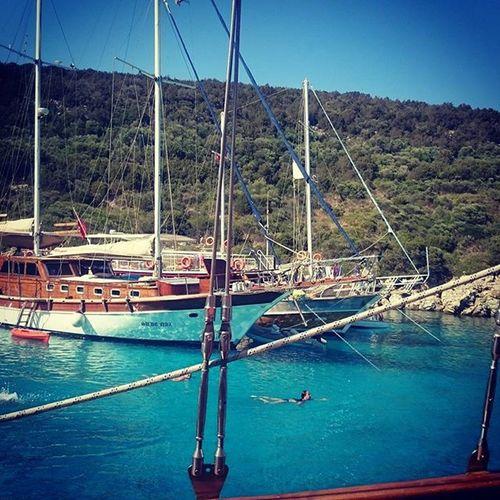 Bodrum Orakkoyu Turkey Relaxing Love Natural SunshineTravelgram Summer2015 Sea
