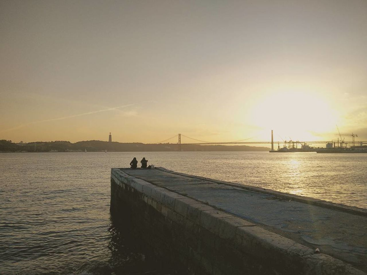 The Magic of Love Sunset Lovers Together Is Better  Lisboa