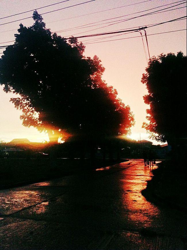 Rainy Day Sunset 061015