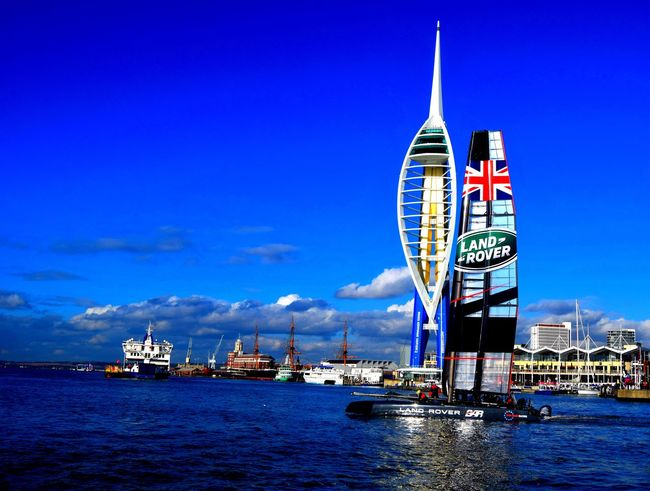 Travel Destinations Urban Skyline City Outdoors Cityscape Ferris Wheel Skyscraper Architecture Sky No People Day Building Exterior Built Structure Portsmouth UK Portsmouthphotographer Portsmouth Harbour City Water Arts Culture And Entertainment Portsea Island Sea Close-up