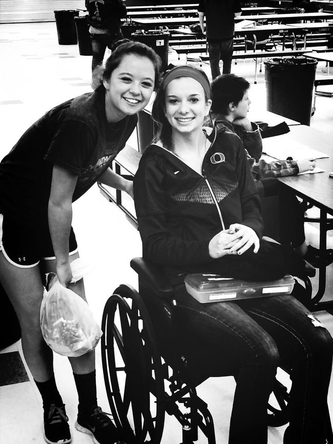Bought this wheelchair for a girl in middle school! Senior Project Wheelchair Excited