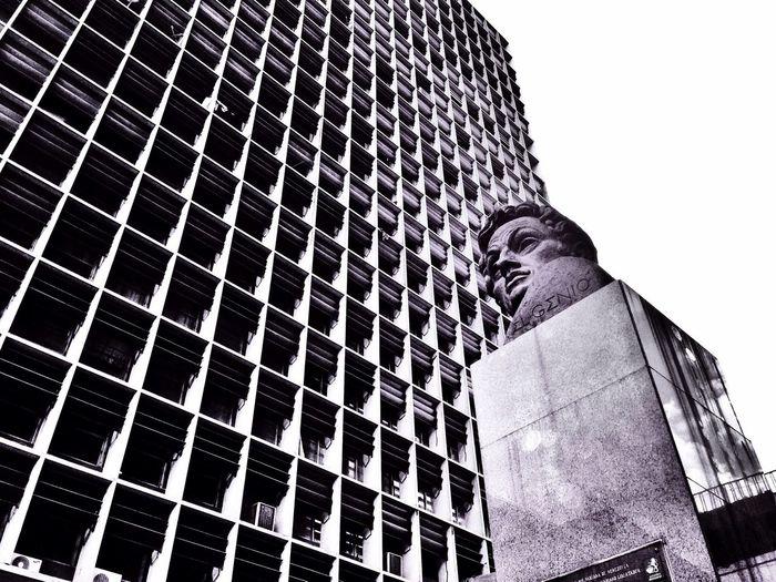 El Genio Caracas Blackandwhite Architecture