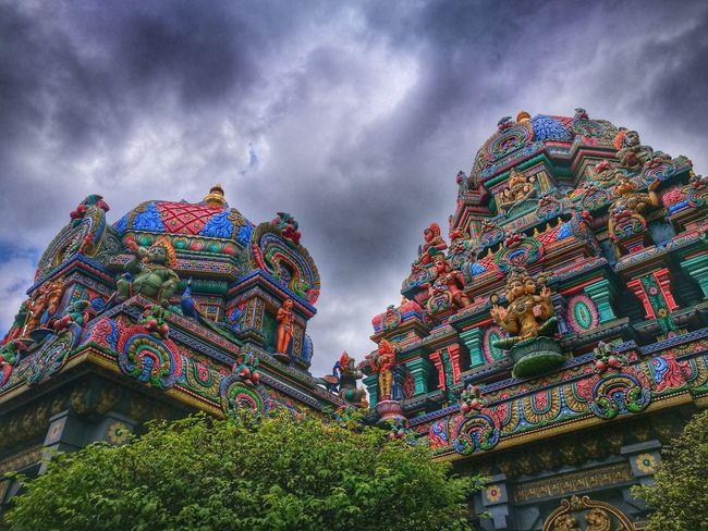 Multi Colored Sky Cloud - Sky Travel Destinations Outdoors Architecture Horizontal