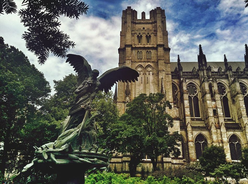 Beautiful stock photos of angel, Angel, Architecture, Branch, Building Exterior
