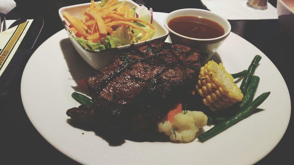 Steaks Dinner Time Fresh Produce Hello World Foodporn