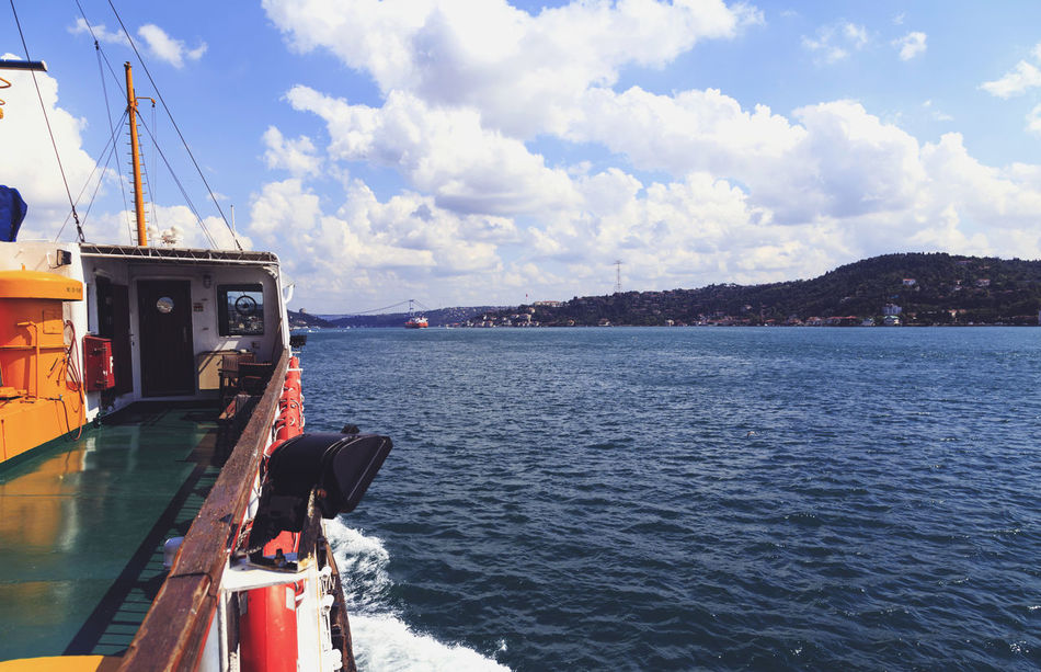 Beautiful stock photos of istanbul, Beauty In Nature, Cloud - Sky, Cloudy, Cruise Ship
