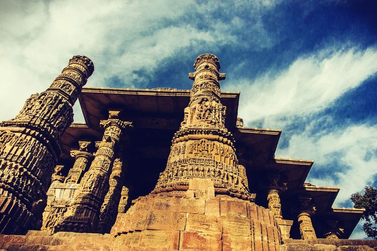 Sun temple Temples Indiapictures Sky First Eyeem Photo