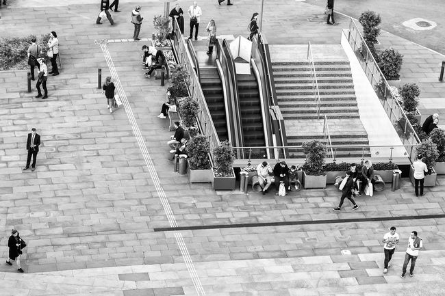 After the Rush Hour After Work Black & White Black And White Blackandwhite City City Life City Street Crowd Group Of People High Angle View Istanbul Istanbul Turkey Istanbuldayasam Large Group Of People Lifestyles Medium Group Of People Mixed Age Range Monochrome My Favorite Photo Natanomalous.com Outdoors Pavement Rush Hour Showing Imperfection Streetphotography