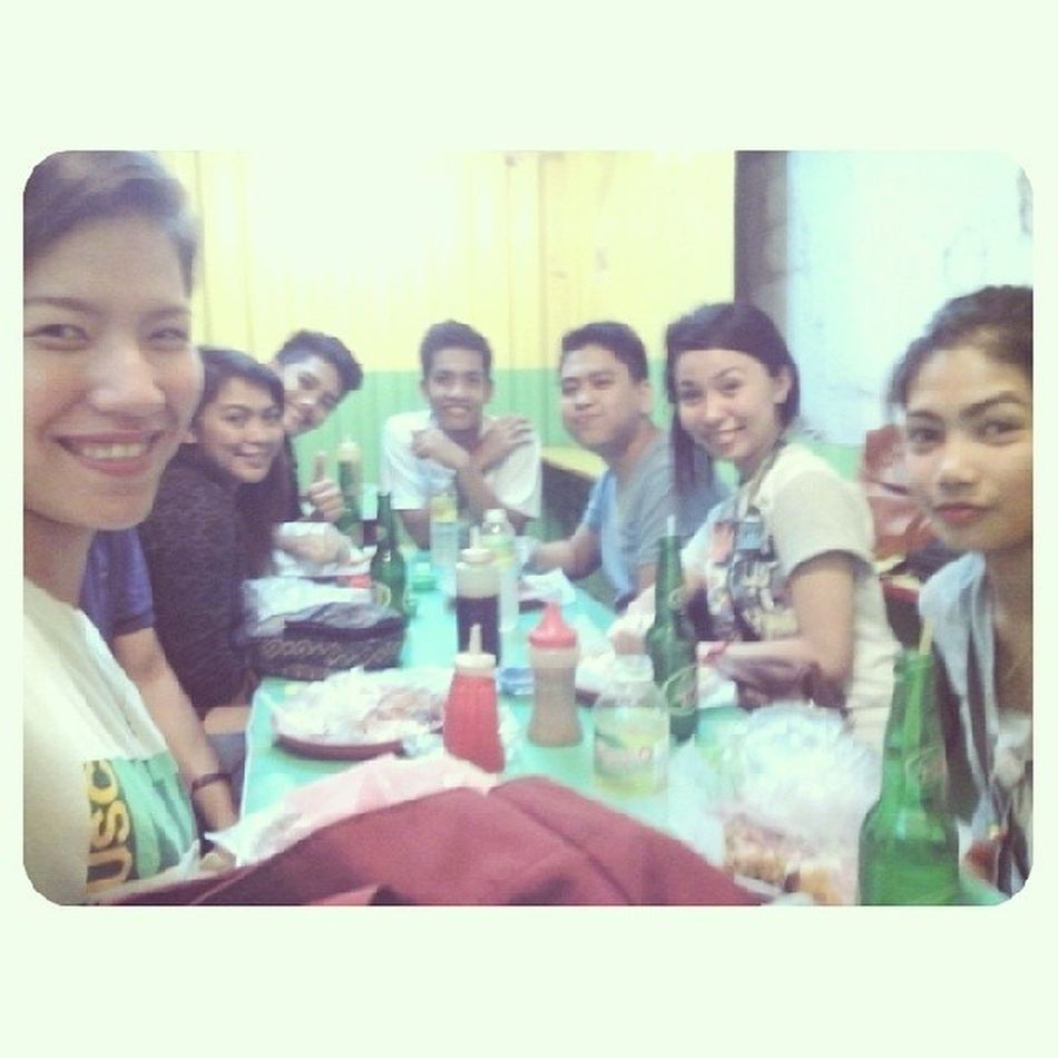 Reunited once and for all. Wootwoot! Happy to be wit these people. It's been.. NVM! Hahahaha ? College Friends FAstobe