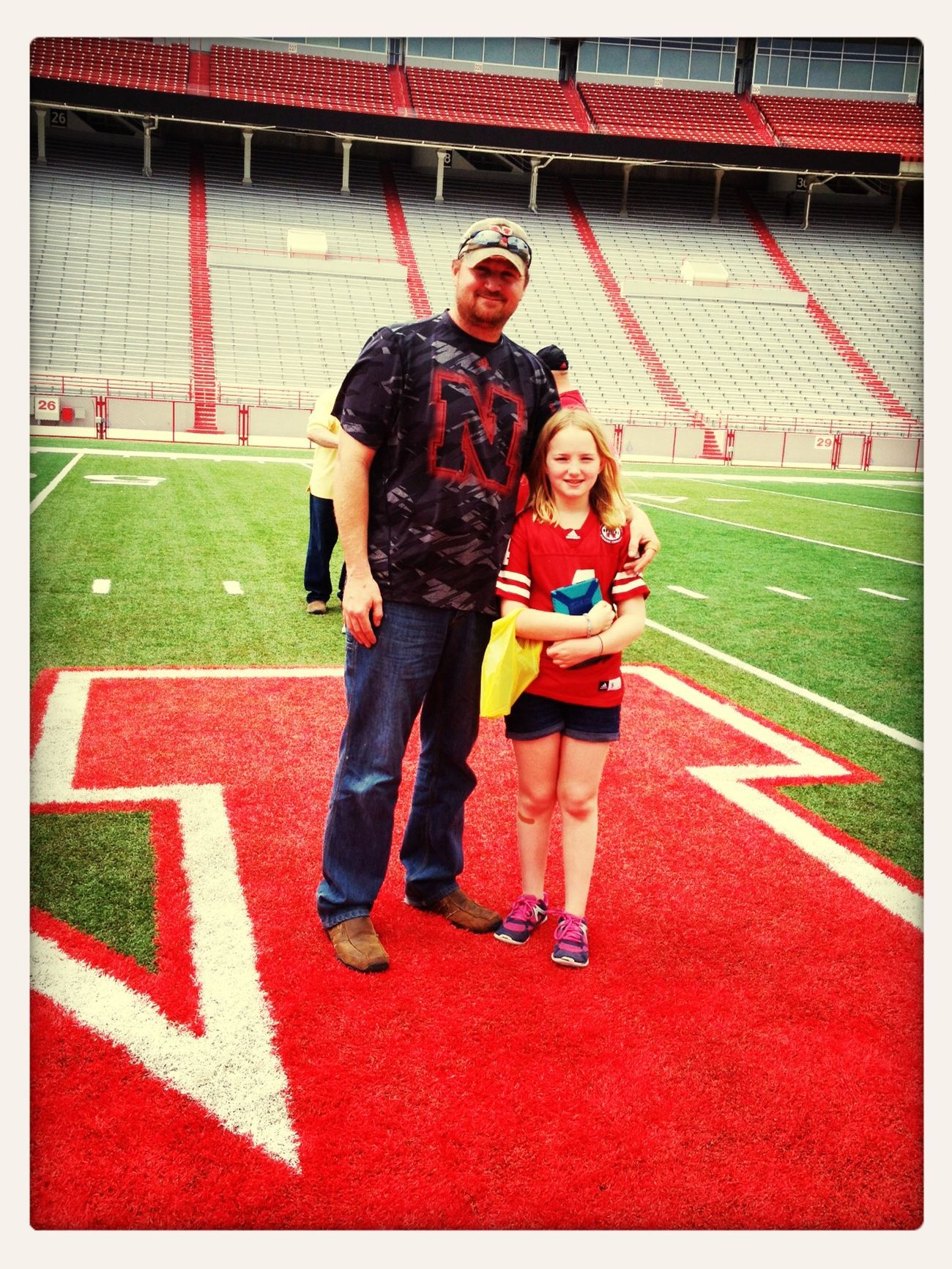 Go Big Red Cornhuskers Enjoying Life