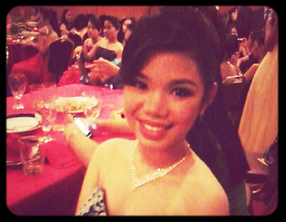Part @Aberdeen Hotel. suck, low quality photo tho. Self Portrait Looking Gorgeous♥