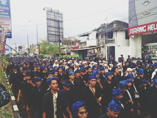 Baduy Sukubaduy Walking Ritual The Human Condition