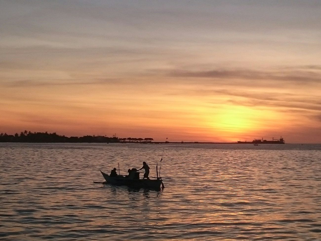 Sunset Losari Beach Makassar Sunset Silhouettes Taking Photos Enjoying Life Phoneography EyeEm Indonesia
