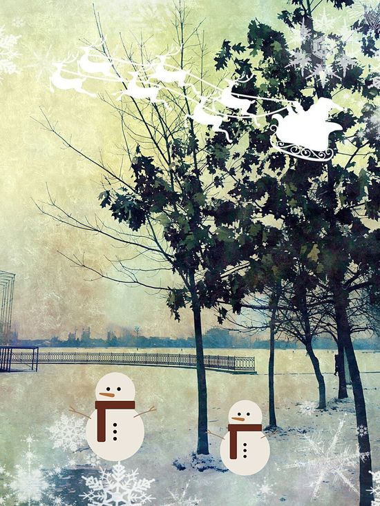Snow ❄ Winter Winter Wonderland Wintertime Ukraine Lake View Marry Christmas