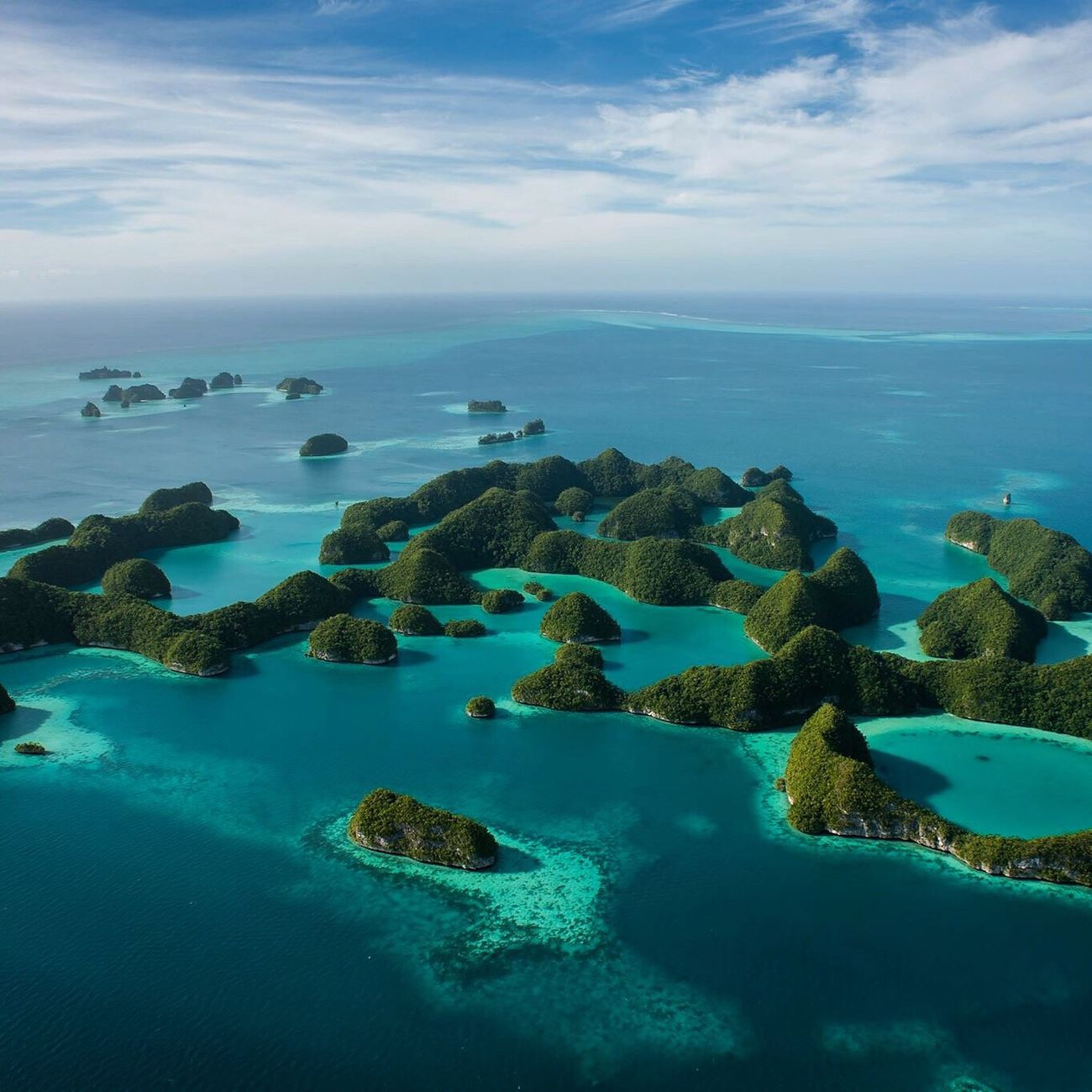 Aerial view of Palau Seventy Islands. Photo taken during a open door helicopter ride during a return visit. Lucky to have called Palau home for two years. The Traveler - 2015 EyeEm Awards Nature Landscape_Collection Traveling Beautiful Nature Island Share Your Adventure Check This Out Wanderlust The Adventure Handbook