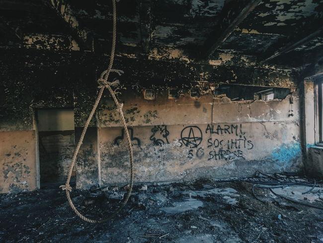 Old Wall Abandoned Dirty Ruined XPERIA Sony Abadonedplaces Latvia No People Death Loop Latvia