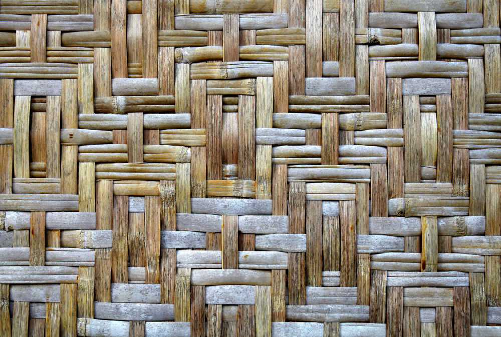 Split Bamboo Wall Backgrounds Bamboo Wall Close-up Crisscross Directly Above Full Frame Interior Nature Nature Background No People Pattern Texture Textured  Wall Wood - Material