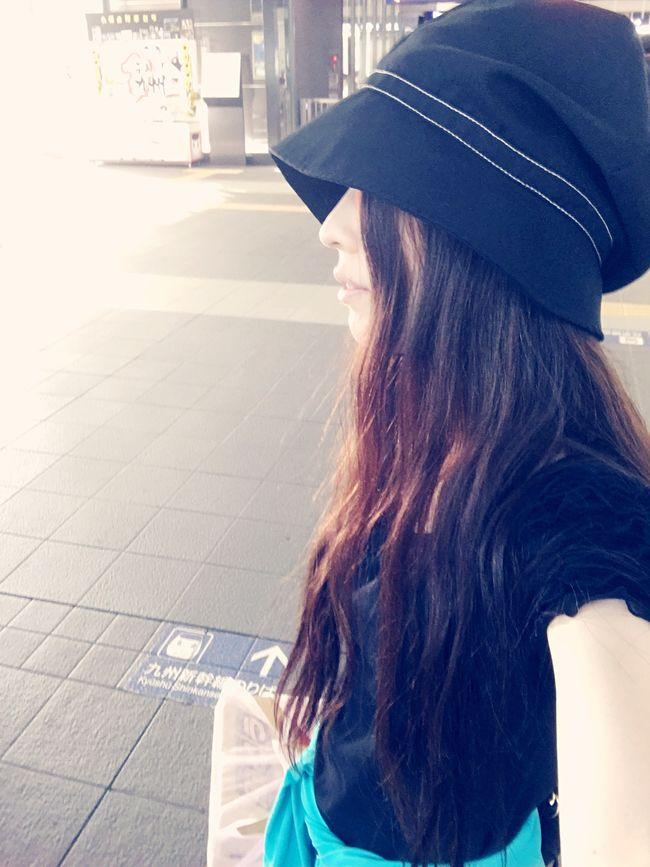 ブドウを持つ人。 JustMe Selfie ✌ Going Home Train Station Myface