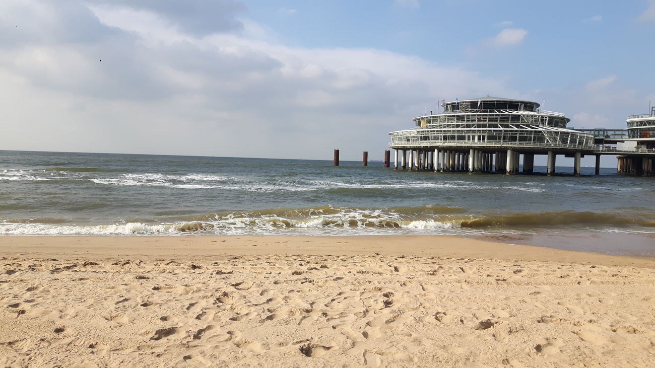 Scheveningen Pier Beach Sea Sand Vacations