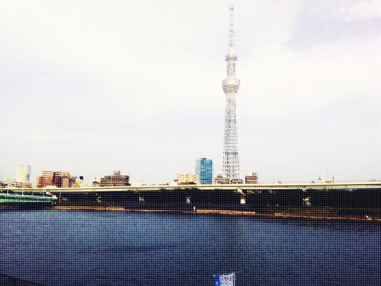 日本2016年 東京スカイツリー Relaxing by the River