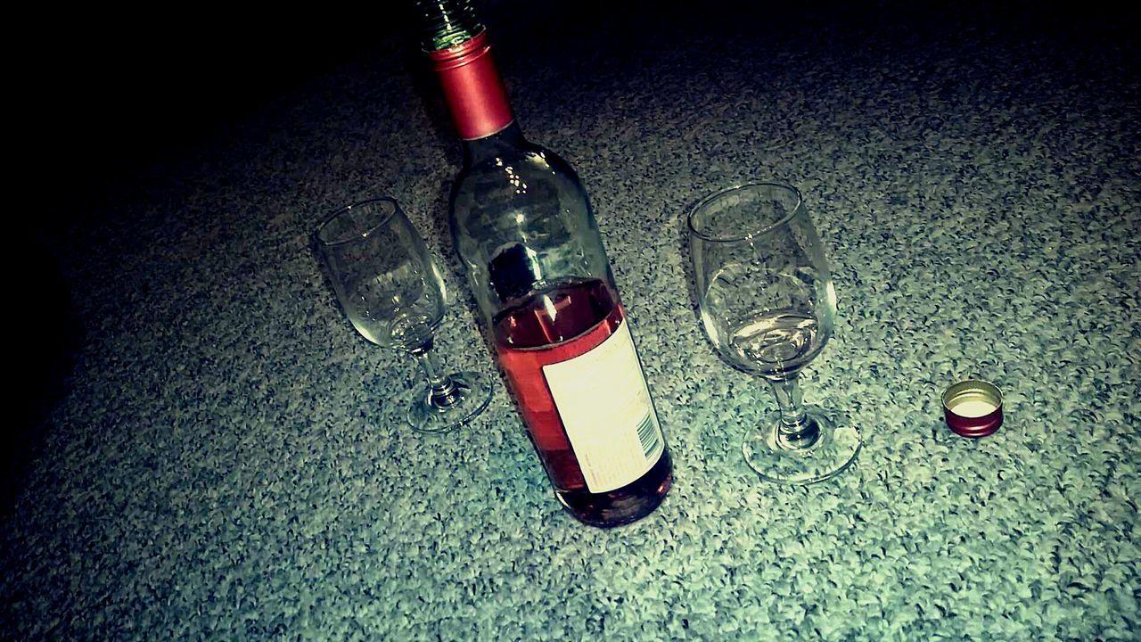 Wine Moscato Girlnight Enjoying Life