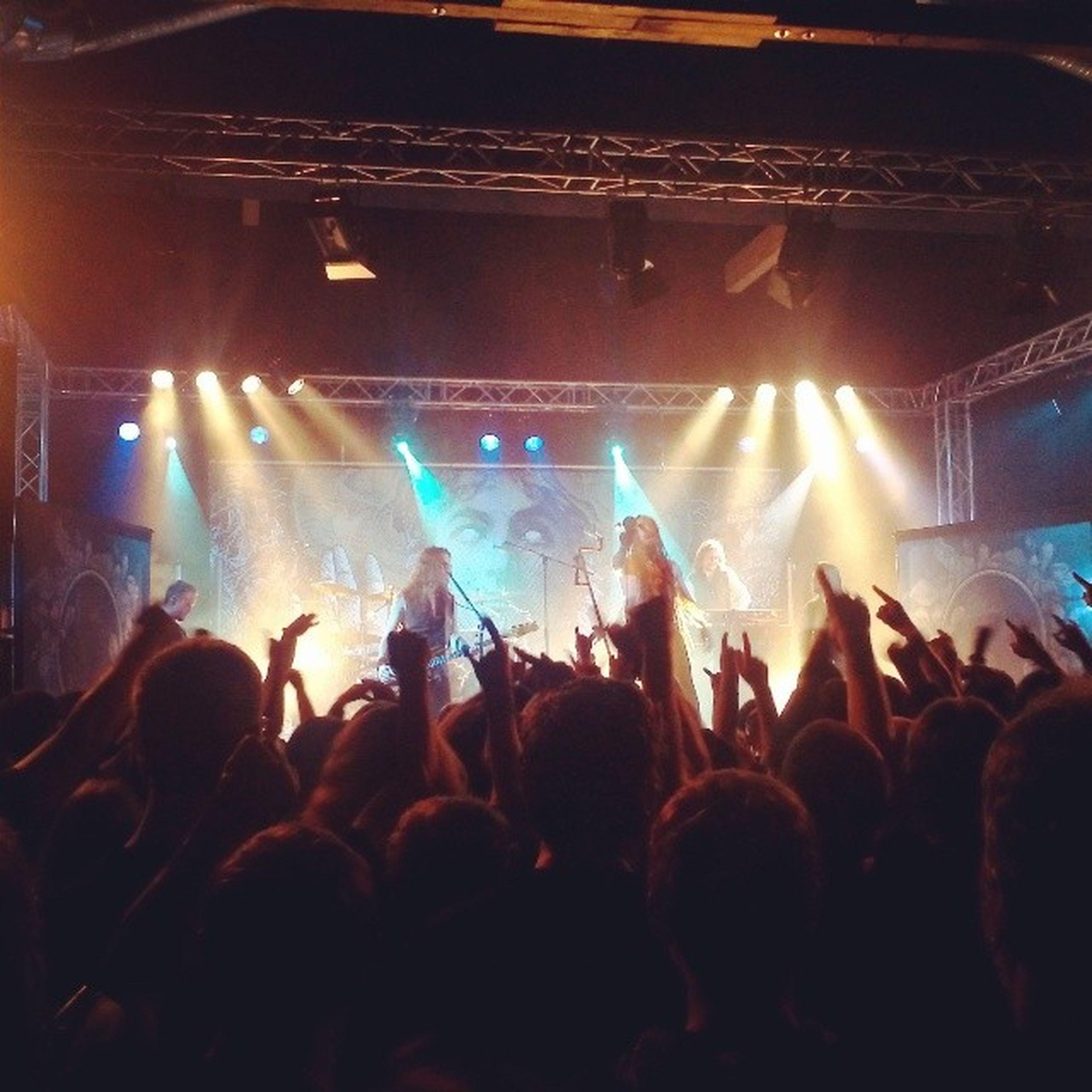 Super Show wie immer Amorphis Metal Dresden Tanteju Finnland