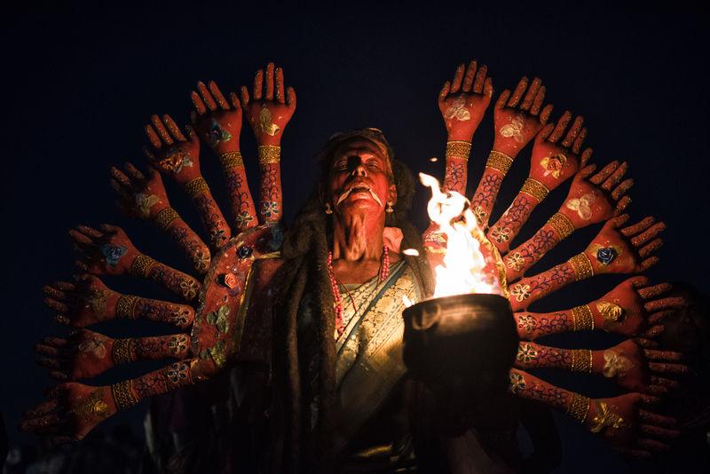 Goddess Kali at Kulasekarapattinam Dasara Festival Burning Close-up Dark Darkness Dasara Dhurga Dusherra Festival Fire - Natural Phenomenon Fire Potatoes Flame Goddess Heat - Temperature Illuminated Kali Kulasai Kulasekarapattinam Lit Low Angle View Mathuramman Night People Red The Week On EyeEm Overnight Success TCPM The Portraitist - 2017 EyeEm Awards