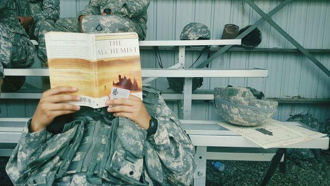 The Alchemist Break Military Rangeday Bookworm Innerpeace Alchemy Life Lessons