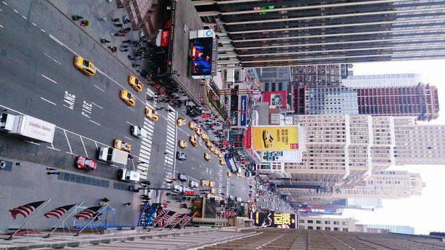 New York. December 2013. 7th avenue.