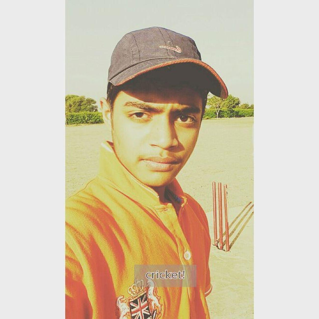 Cricket! Cricket Sometimes Ihatebutilove Daytime Hotwinter Hotwinterday Joyfulday Pics 1 Style Nike Cap Nepolian Orange Lovetoloveit Stumps Crickets Khel Conqure Batsman Fastbowler Wicketkeeper Gentleman  Gentlemanstyle Gentleman