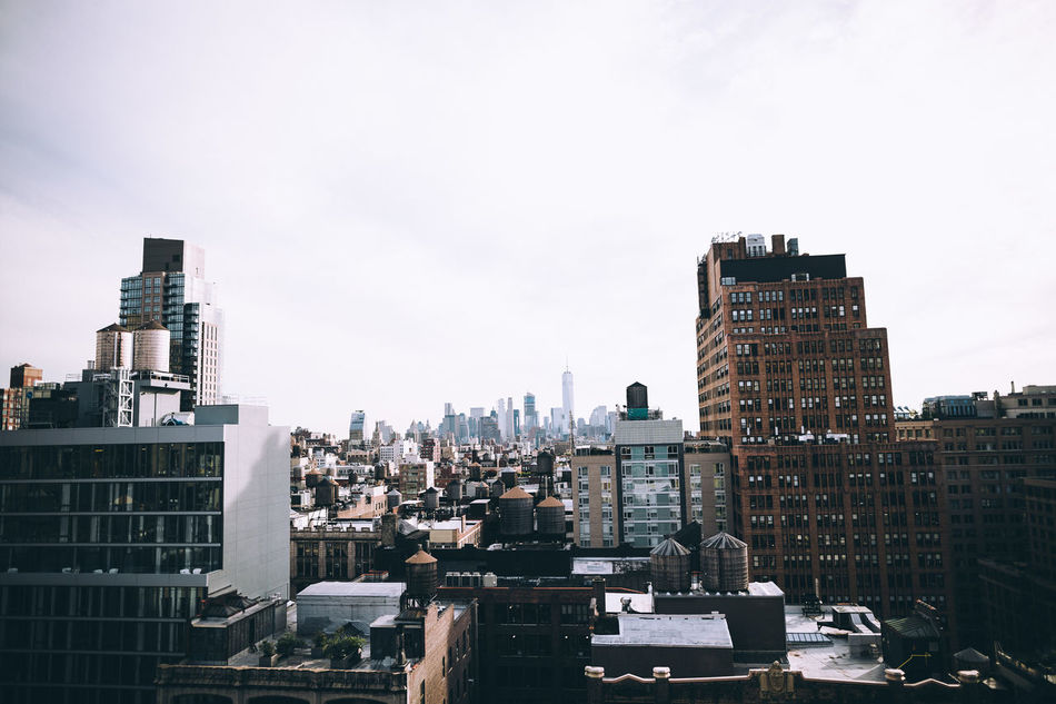 Still can't get over the view form EyeEm's NY HQ. Architecture Building Exterior Built Structure City City City Life City Life Cityscape Clear Sky Day Downtown District EyeEm Best Shots Modern New York New York City No People Outdoors Skyscraper Travel Destinations Urban Skyline